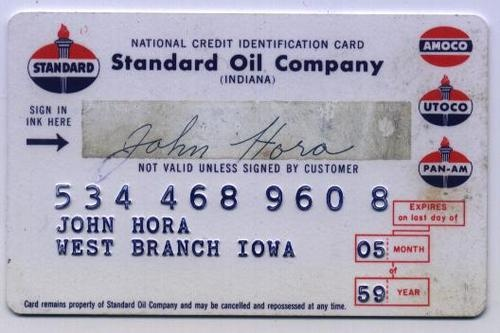 company credit card expense report