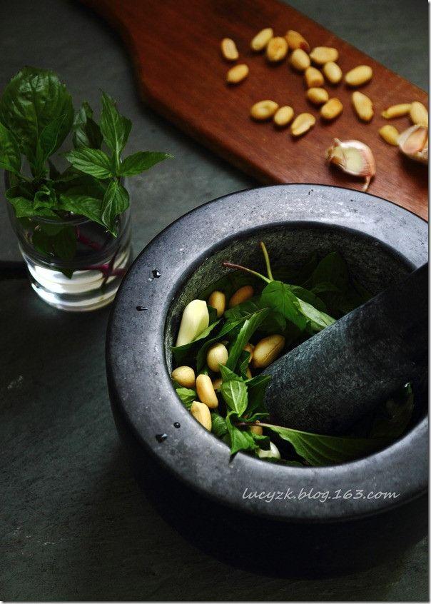 Spicy Thai Basil Pesto | The Hobbits Pantry | Pinterest