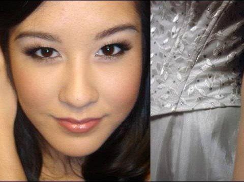 apply makeup look like zombie bride