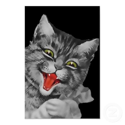 The gallery for --> Evil Cat Laughing