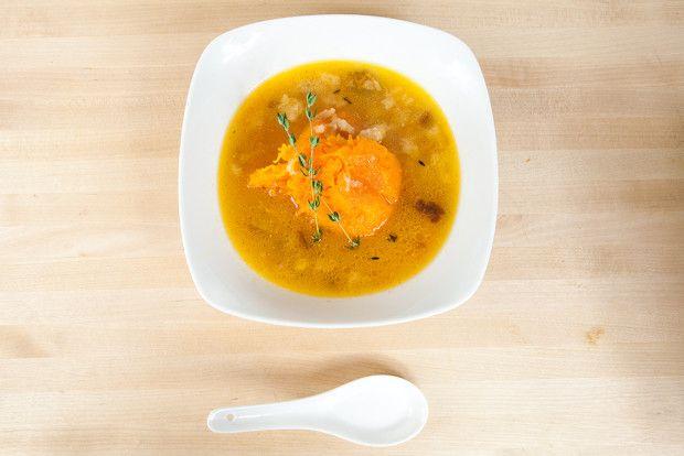 Roast Pumpkin Soup with Gruyère | Homemade Food Recipes