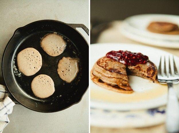 yeasted buckwheat pancakes | to eat & drink | Pinterest