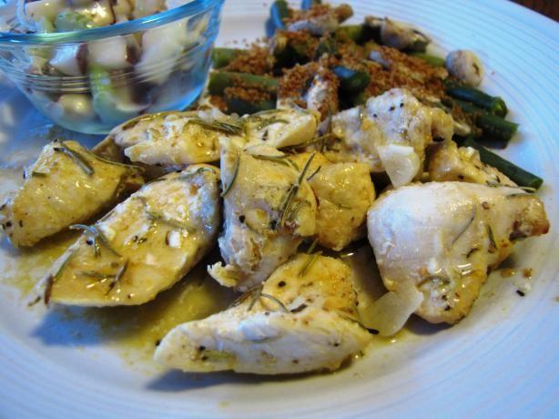 Garlic Roast Chicken With Rosemary and Lemon | Recipe