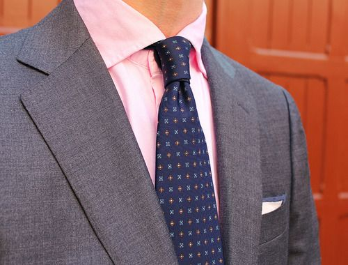 Grey Vest Pink Shirt   Iscblog