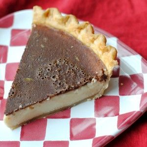 Bob Andy Pie a simple cinnamon-flavored custard pie (although some ...