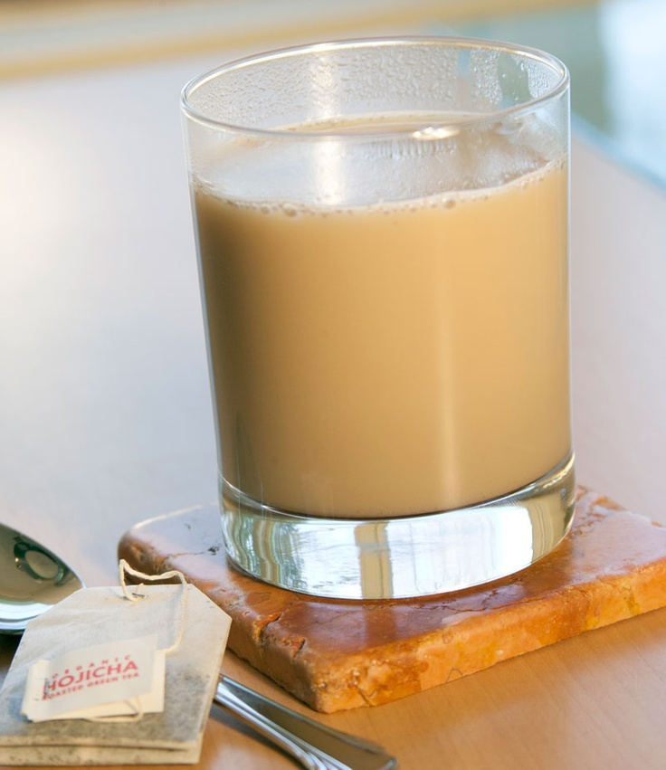Hojicha Chai #recipe | Beverage Recipes | Pinterest