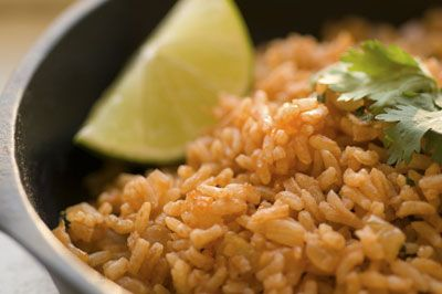 ... Mexican rice, but then I've only liked restaurant Spanish rice at