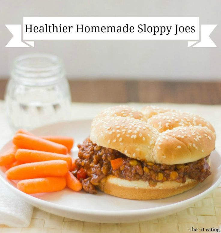 Slow Cooker Beef and Lentil Sloppy Joes | Recipe