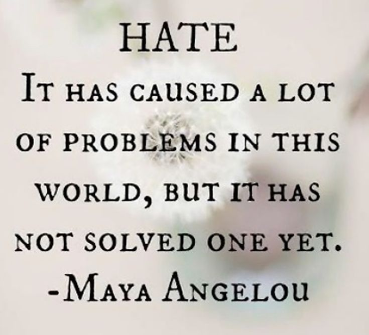 No Hate, Just Peace | Quotes that I love | Pinterest