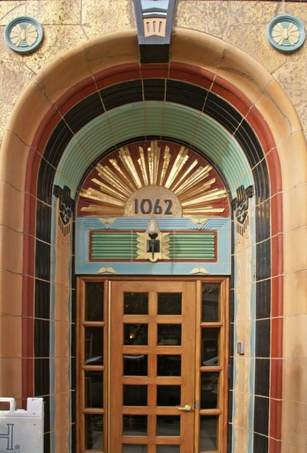 art deco door designspiration pinterest