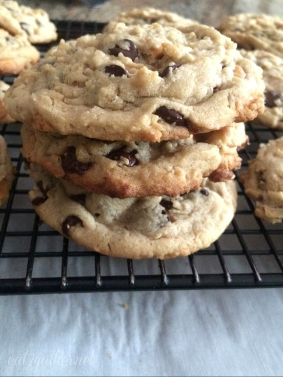Cowboy Cookie ~ a peanut butter oatmeal chocolate chip cookie   Eat 2 ...