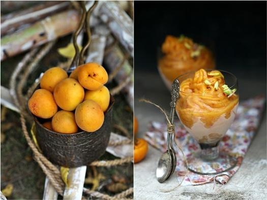 Apricot Peach Sorbet #SummerFoodie   Summer Foodie Board   Pinterest