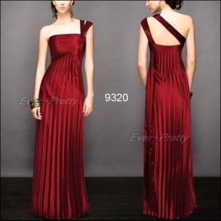 Shoulder Dress on Gorgeous One Shoulder Red Ruffles Evening Dresses   Red Dresses