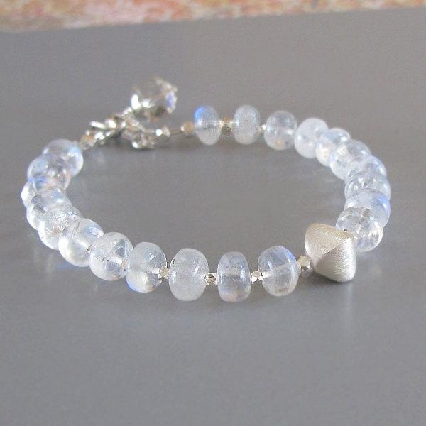 rainbow moonstone spectrolite gemstone sterling silver
