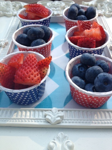 Toddler 4th of July Snacks