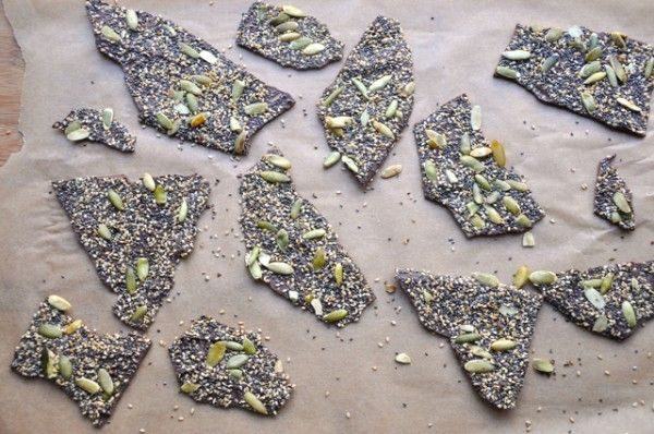 Salty Seedy Chocolate Bark | All good things vegan...Food ...