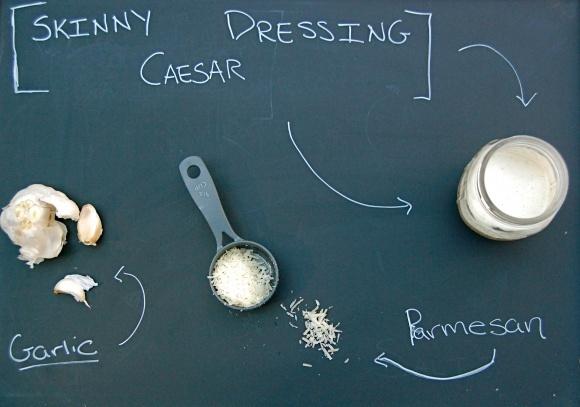 Skinny Caesar Dressing Low Calorie Caesar Dressing Vegetarian Caesar ...