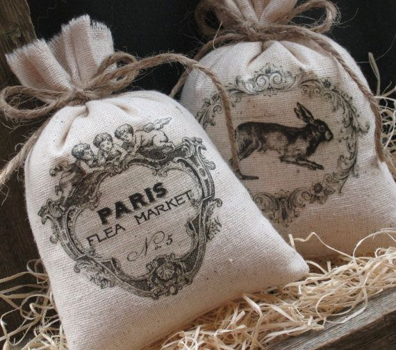 Lavender Sachets Shower Gifts French Rabbit Paris by AbundantHaven, $ ...