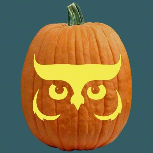 Free pumpkin carving patterns cute owl food pinterest