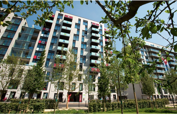 CANADIAN RESIDENCE IN THE OLYMPIC VILLAGE