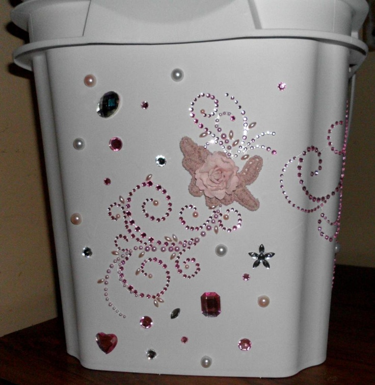 Bedroom trash can crafts i have done pinterest for Bedroom garbage can