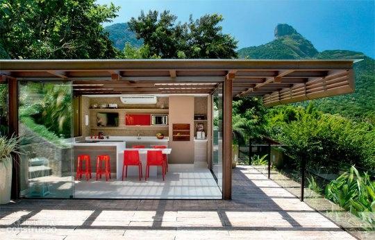 Cocina al aire libre terrazas pinterest for Imagenes de terrazas pequenas