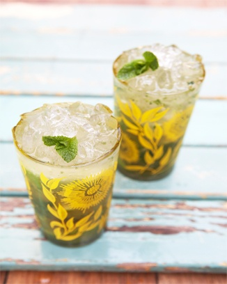 Jamie Oliver's lemon grass mojito | sips. | Pinterest