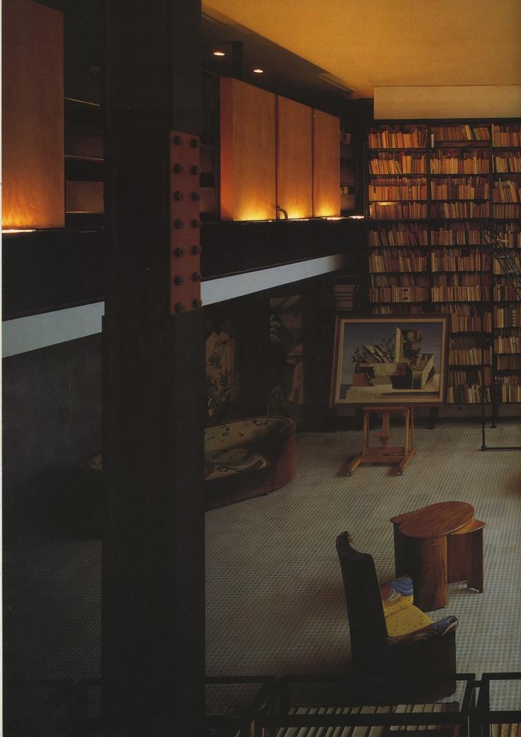 La maison de verre 1929 pierre chareau interiors pinterest for 7 a la maison casting