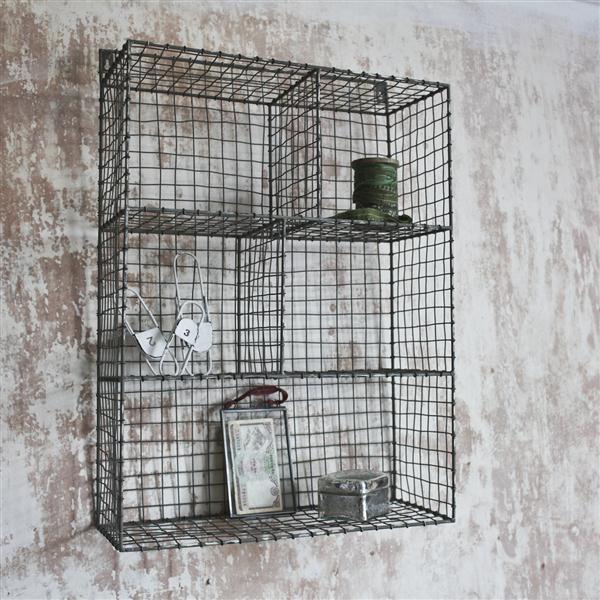 Wire shelf unit | nEw plAce | Pinterest