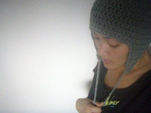Pattern Crochet Hat Ear Flaps : crochet hat with ear flaps pattern Crochet Pinterest