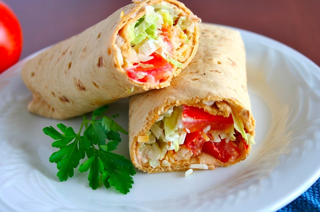 Buffalo Chicken Wraps | Sandwiches, Wraps, Sliders | Pinterest