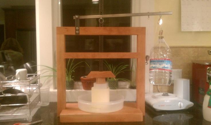 how to make dutch cheese press