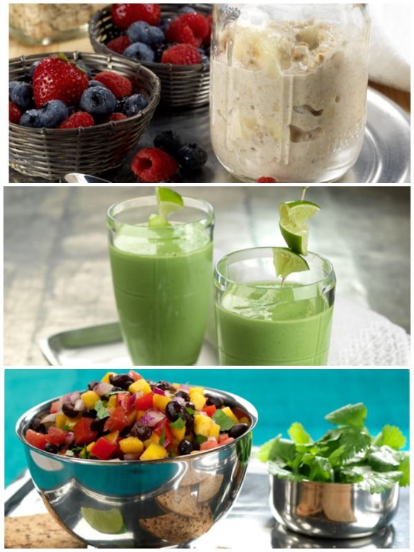 New Recipes: Ginger Pear Smoothie, Overnight Oats with Berries & Mango ...