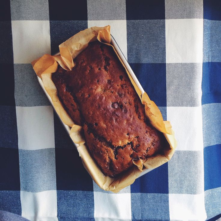 spelt and whole wheat lemon olive oil banana bread with dark chocolate ...