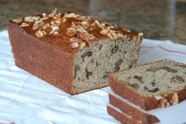 Whole Wheat Low Fat Banana Nut Bread | Food | Pinterest