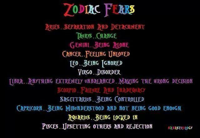 zodiac fears   I'm 100% Scorpio!   Pinterest