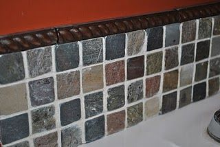 backsplash tile tutorial.