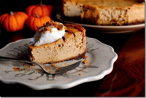 Pumpkin Gingersnap Cheesecake | For the Love of Pumpkin | Pinterest