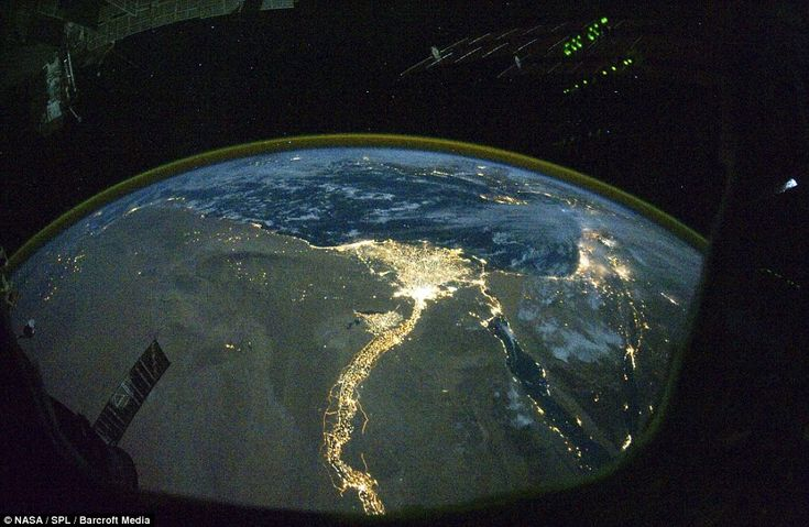 View from space - wow.