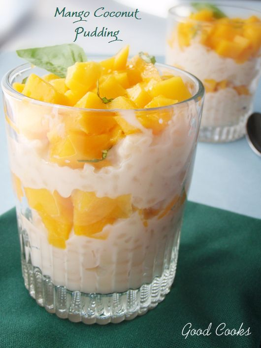 Mango Coconut Rice Pudding   Sweet Stuff   Pinterest