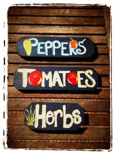 Cute Garden Signs Vegetable Garden Pinterest