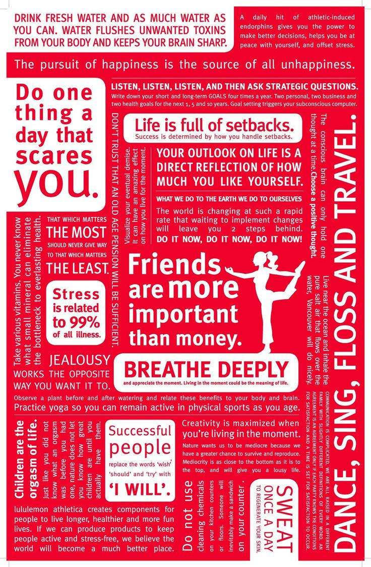 The Lululemon Manifesto