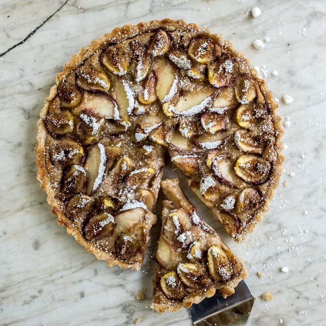 Fig, Peach and Mascarpone Tart | Sweets things! :P | Pinterest
