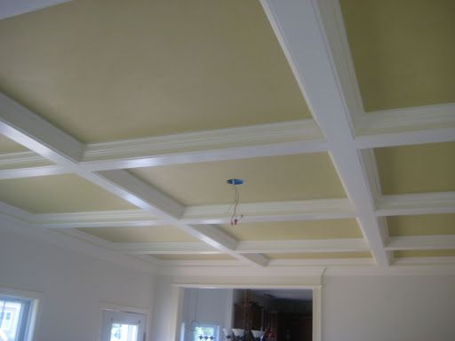 Crown molding ideas for the home pinterest for Tray ceiling trim ideas
