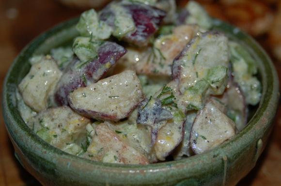 purple rific layer cake chicken en escabeche with purple mashed potato ...