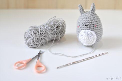 Crochet Patterns Galore - Small Amigurumi Totoro