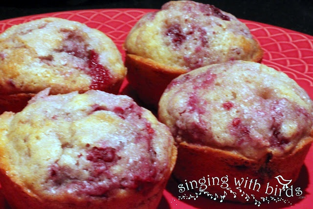 Raspberry Sugar Muffins   Food-Breakfast   Pinterest