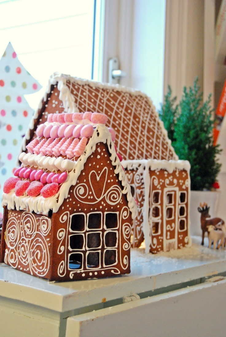 Gingerbread house gingerbread houses pinterest for Gingerbread house inspiration