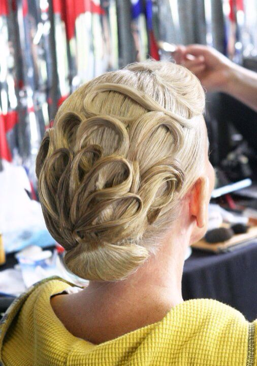 cool anime hairstyles : Ballroom Hairstyle Photos HAIRSTYLE GALLERY