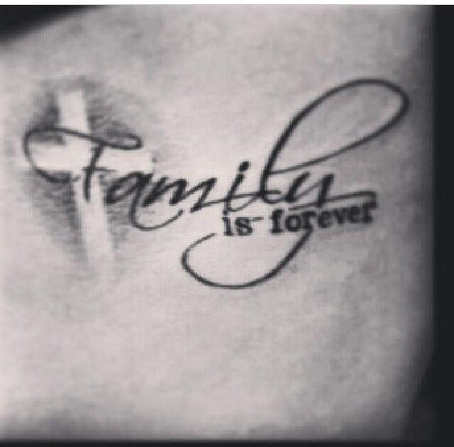 family forever tattoo. Black Bedroom Furniture Sets. Home Design Ideas